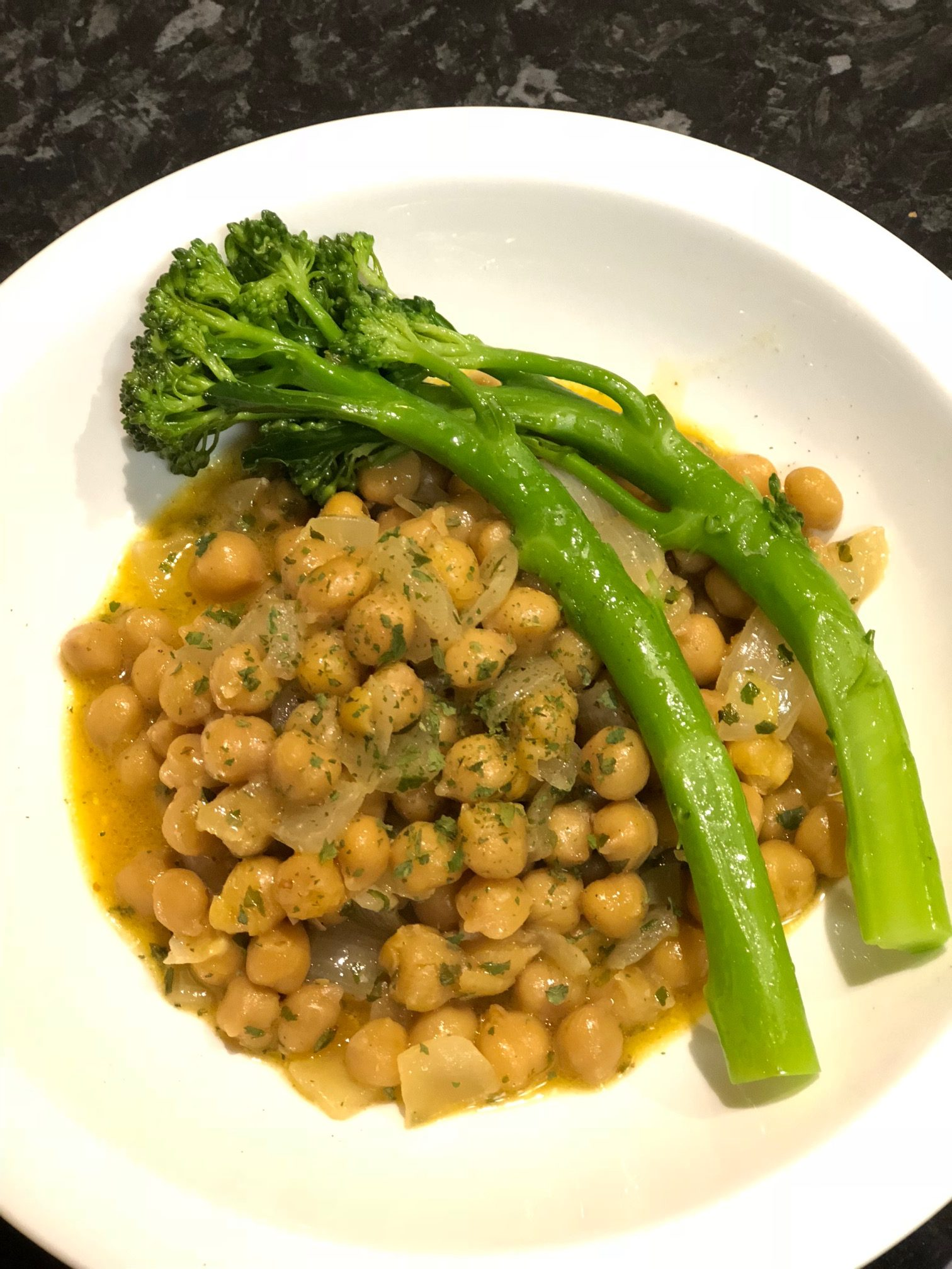 Chickpeas & Broccolini